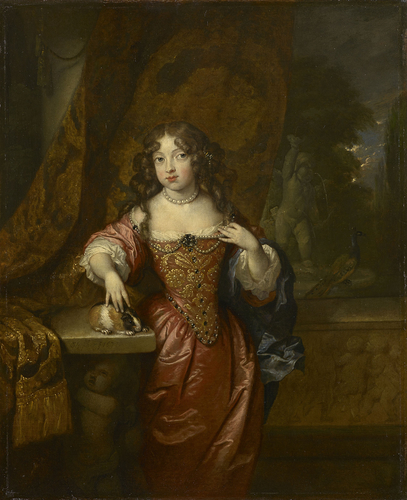 Portrait of a Girl with a Guinea-pig