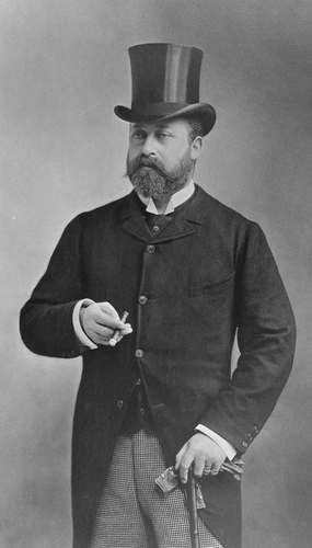 Portrait photograph of Albert Edward, Prince of Wales (1841-1910) by Nadar, c. 1888