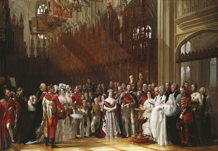 The Christening of The Prince of Wales, 25 January 1842