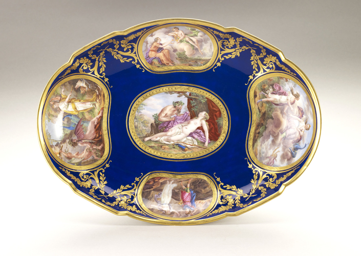 Compotiers ovale (part of the Louis XVI dinner service)