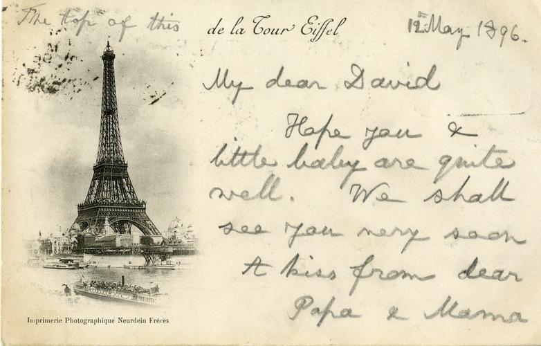Postcard of Paris