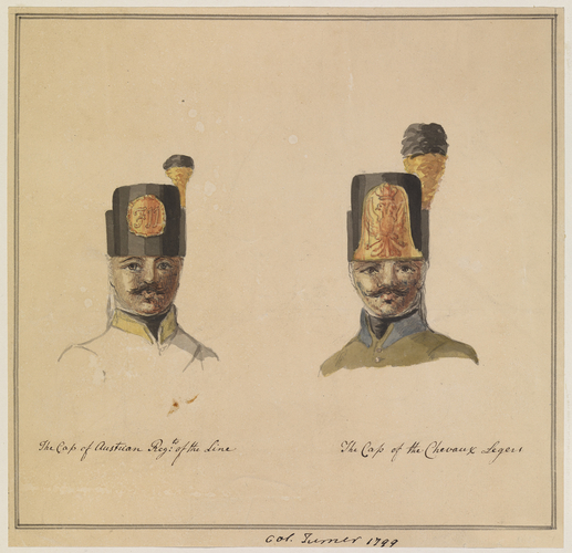 Tomkins Hilgrove Turner (1764-1843) - Austrian Army  Caps of