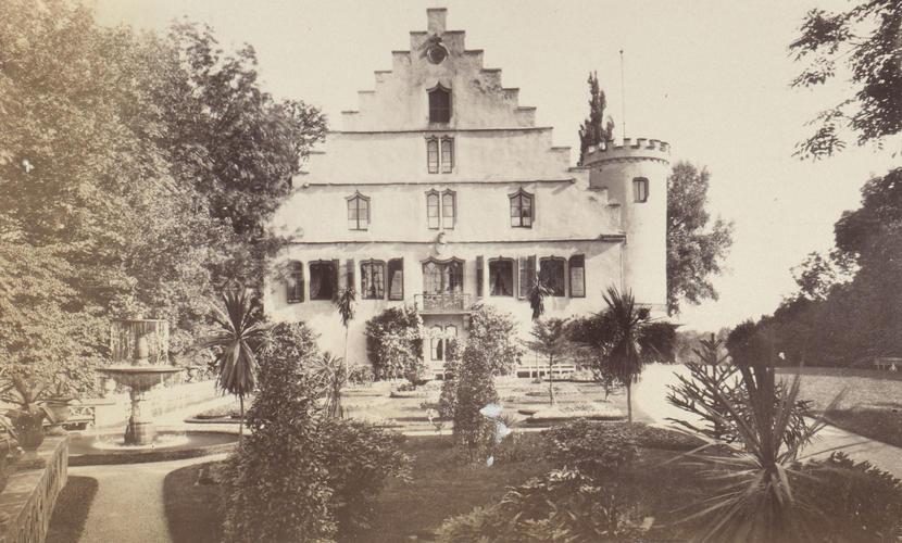 Photograph of The Rosenau, Coburg, April 1896