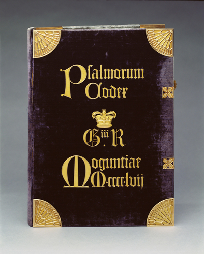 The Mainz Psalter