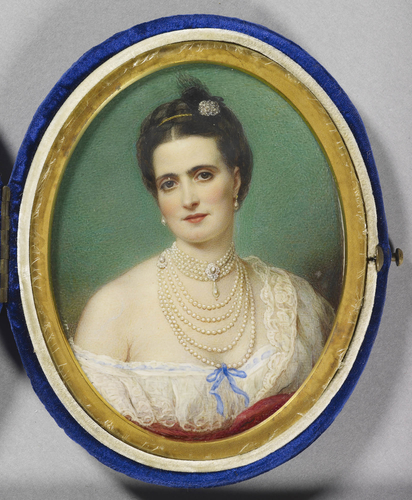 Portrait of a lady, perhaps Giulia Beneni