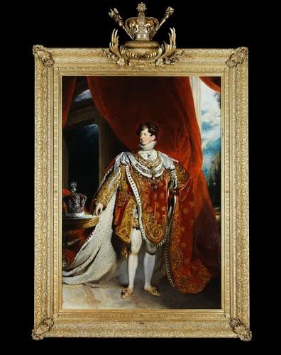 Frame for RCIN 405918, Lawrence, George IV