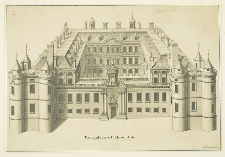 The Royal Palace of Holyrood House