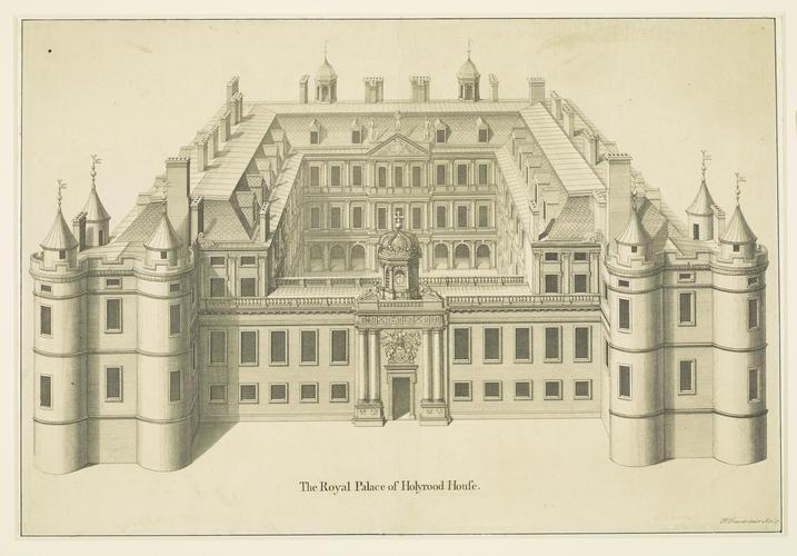 The Royal Palace of Holyrood House