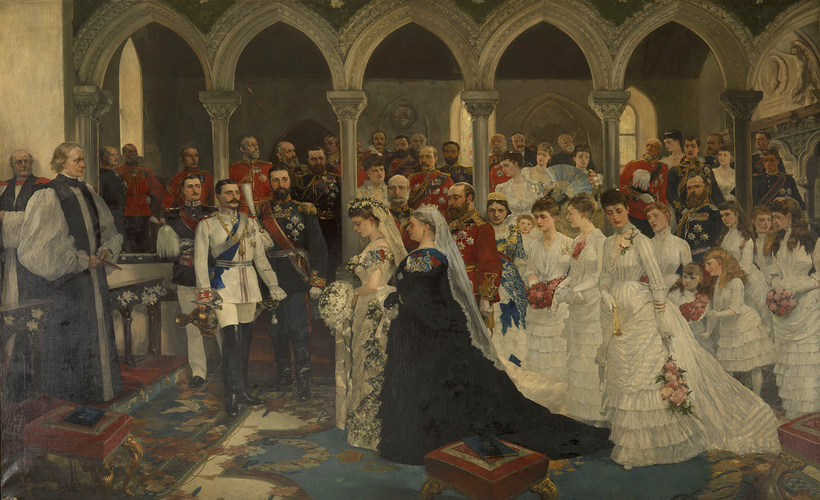 The Marriage of Princess Beatrice, 23rd July 1885