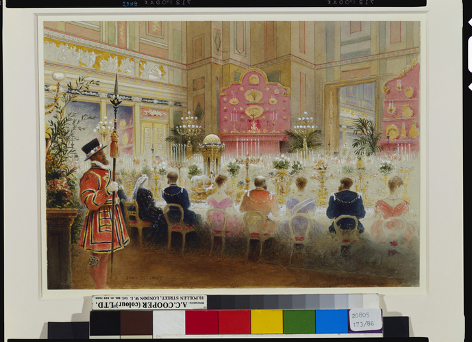 The Golden Jubilee State Banquet at Buckingham Palace, 21 June 1887