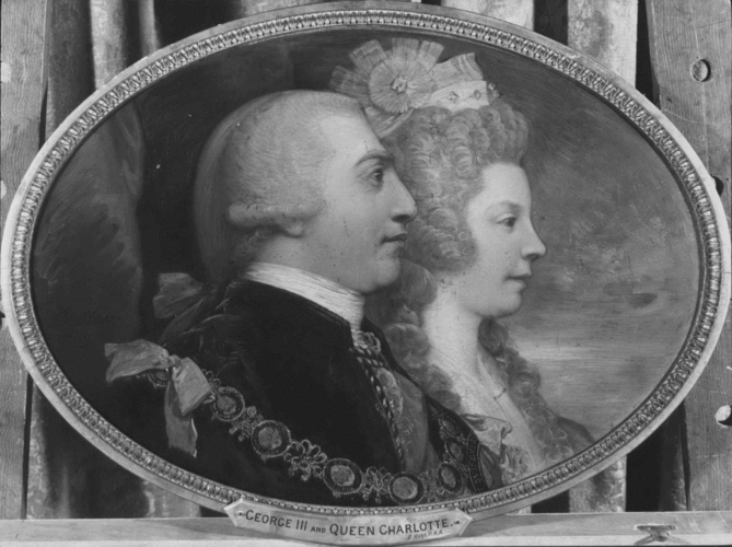 George III and Queen Charlotte