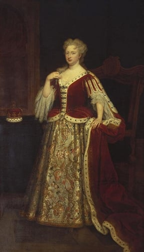 Queen Caroline of Ansbach (1683-1737), when Princess of Wales