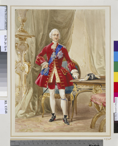 Prince Albert in costume for the 1745 Fancy Ball, 6 June 1845