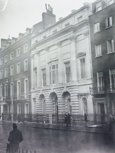 No. 17 Bruton Street, London W1, the birthplace of HM Queen Elizabeth II