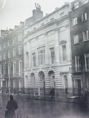 No. 17 Bruton Street, London W1, the birthplace of HM Queen Elizabeth II