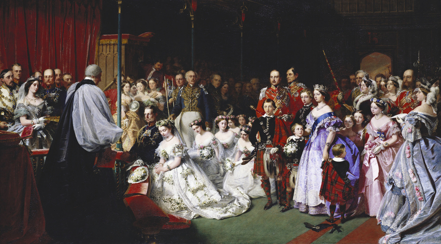 The Marriage of Victoria, Princess Royal, 25 January 1858