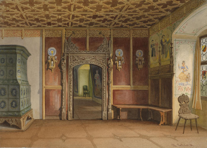 The Veste Coburg: entrance hall