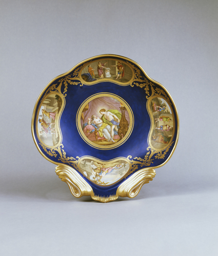 Compotiers coquilles (part of the Louis XVI dinner service)