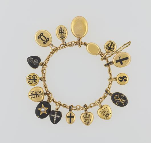 Queen Victoria's charm bracelet