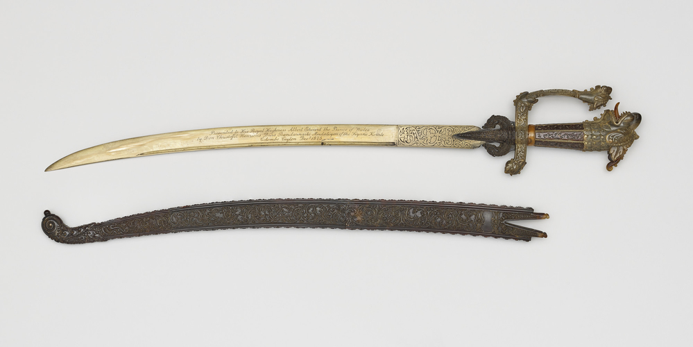 Master: Sword and scabbard