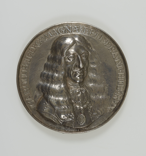 Medal commemorating the Restoration of Charles II
