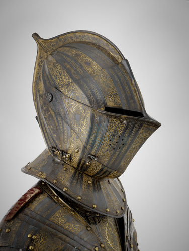 Cuirassier armour of Henry, Prince of Wales