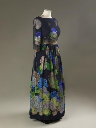 Evening Dress and Shawl