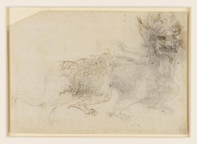 A design for a dragon costume