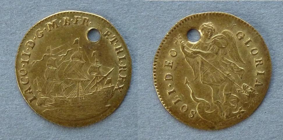 James II touchpiece