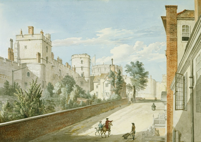 Castle Hill from the Town Gate, Windsor Castle