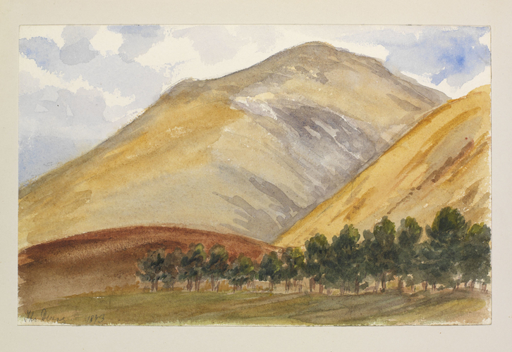 Master: SKETCHES BY QUEEN VICTORIA II Item: A Highland landscape