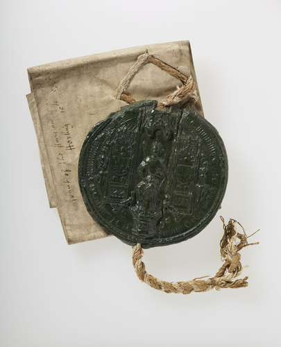 Letters Patent of Edward III dated 14 April 1341