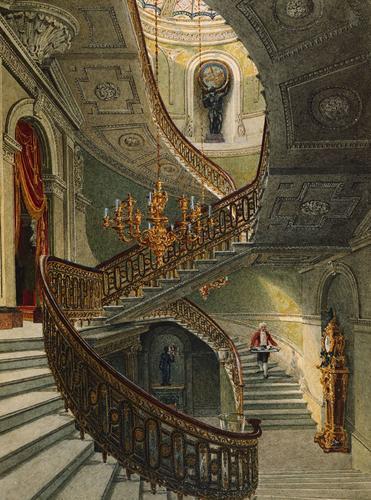 The Grand Staircase, Carlton House