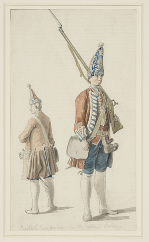 British Grenadiers in the Allied Army