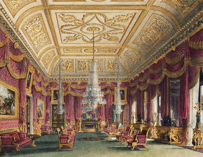 Carlton House: The Crimson Drawing Room