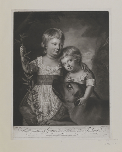His Royal Highness George Prince of Wales & Prince Frederick