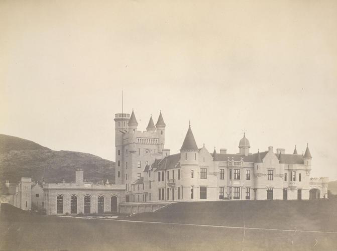 Balmoral Castle, West side