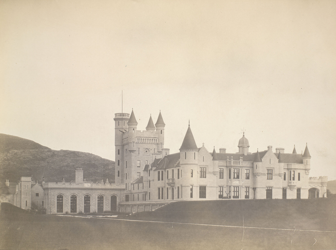 Balmoral Castle, West side