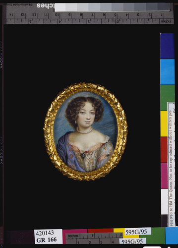 Portrait of an unknown lady, perhaps Louise de Keroualle, Duchess of Portsmouth