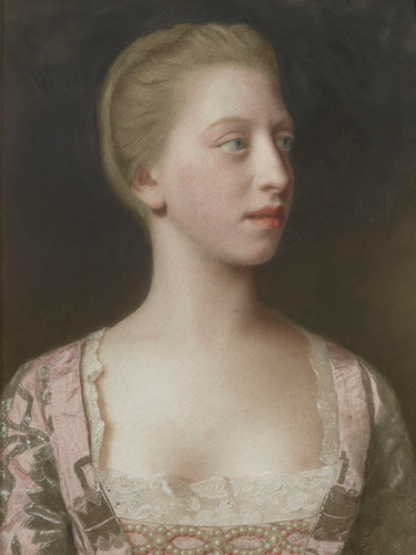 Princess Augusta (1737-1813), later Duchess of Brunswick