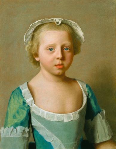 Princess Caroline Matilda (1751-1775), later Queen of Denmark