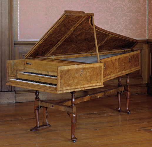 Two-manual harpsichord