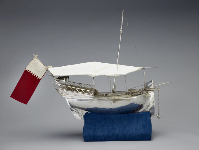 Model dhow