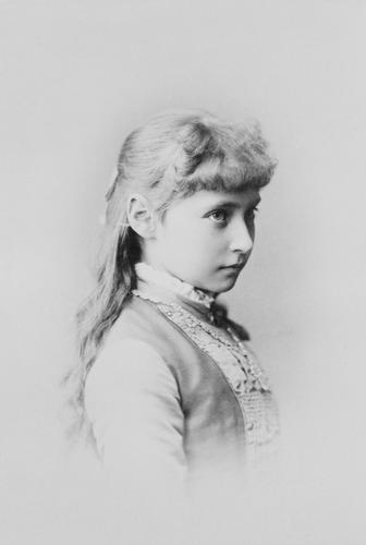 Alexandra Feodorovna, Empress of Russia (1872-1918) when Princess Alix of Hesse