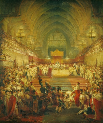 The Banquet at the Coronation of George IV