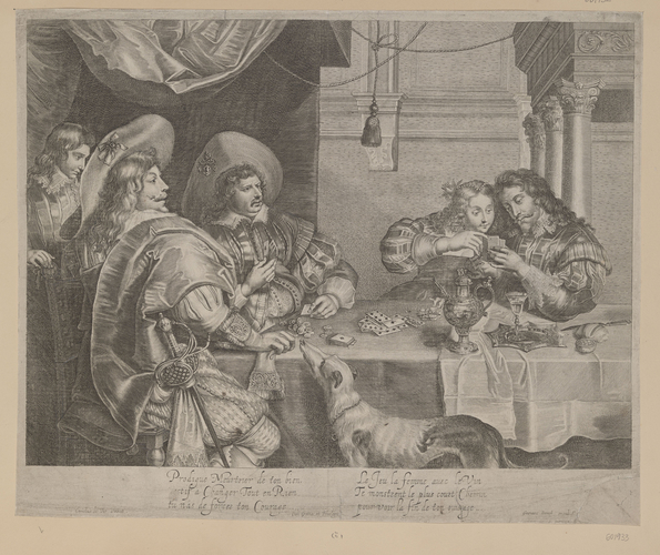 Charles I and Queen Henrietta Maria ? - The Card Players
