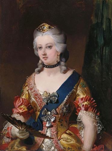 Queen Victoria (1819-1901) in Fancy Dress