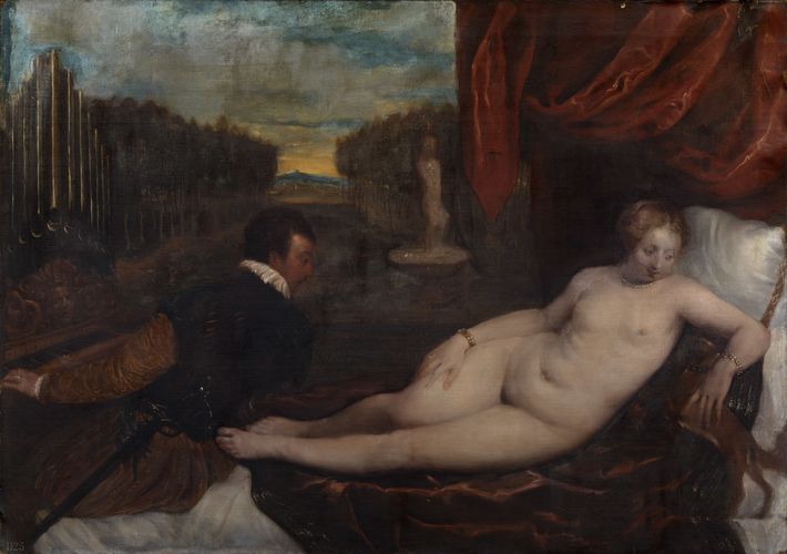 Venus with an Organist