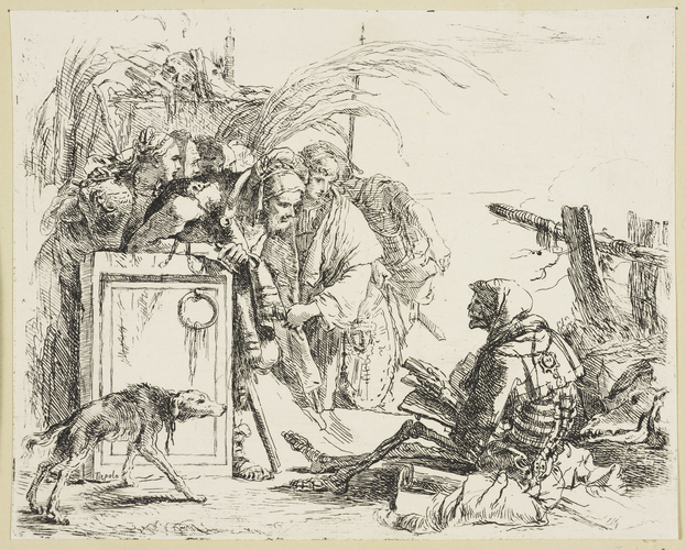 Master: Vari Capricci Item: The figure of Death from the Vari Capricci