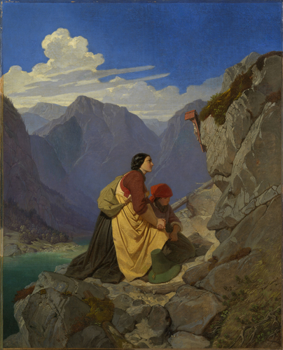 Tyrolese Woman and Child